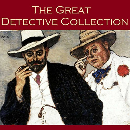 The Great Detective Collection     24 of the Best Classic Detective Stories              By:                                                                                                                                 Arthur Conan Doyle,                                                                                        G. K. Chesterton,                                                                                        Ernest Bramah,                   and others                          Narrated by:                                                                                                                                 Cathy Dobson                      Length: 21 hrs     24 ratings     Overall 2.7