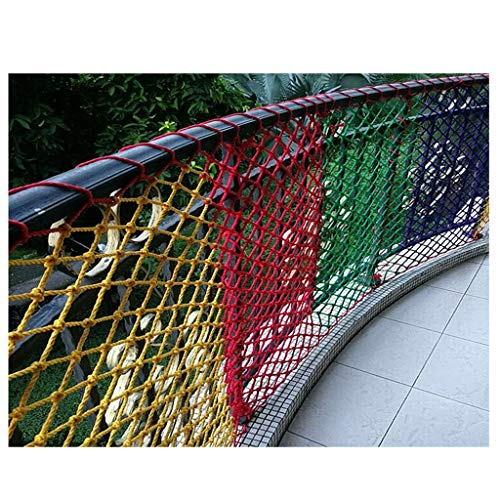 Why Should You Buy Color Decorative Net, Child Safety Net Stair Protection Net Balcony High Altitude...