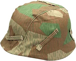 perfeclan Repro WW2 German M35 Reversible Helmet Cover Splinter Camo para M40 M42