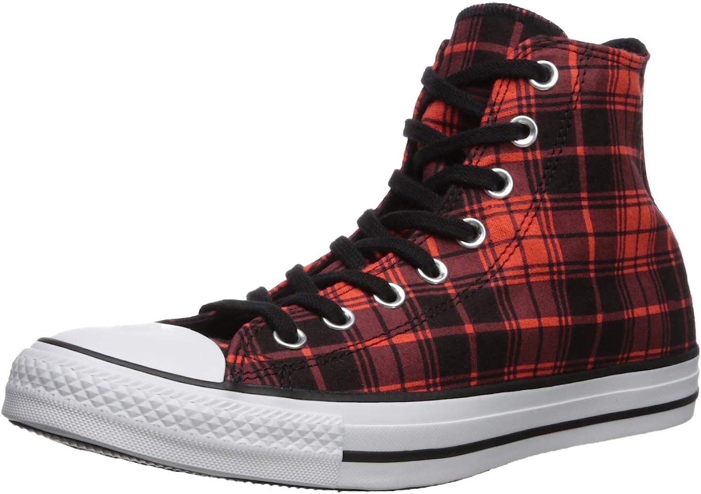 Converse Men's Chuck Taylor All Star Plaid High Top Sneaker,