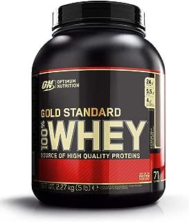 Optimum Nutrition ON Gold Standard 100% Whey Proteína en Polvo Suplementos Deportivos con Glutamina y Aminoacidos Micronizados Incluyendo BCAA, Extremo Chocolate con Leche, 71 Porciones, 2.27 kg