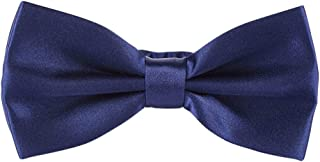"""Pre-Tied 2.6"""" Knot Tuxedo Polyester Bow Tie in a Gift Box for Men"""