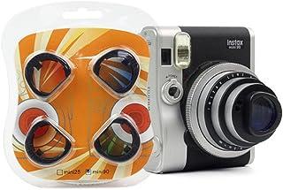 Juego de filtros JXE de color degradado para primeros planos para cámara Fujifilm Instax Mini 90
