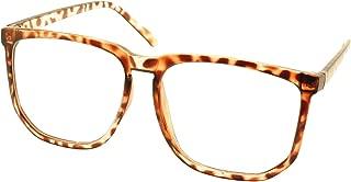 Retro Vintage Inspired Classic Nerd Fashion Clear Lens Glasses Frame Eyewear