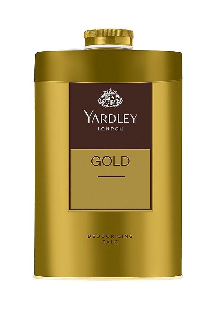 快適細い並外れたYardley London - Gold Deodorizing Talc for Men, 250g