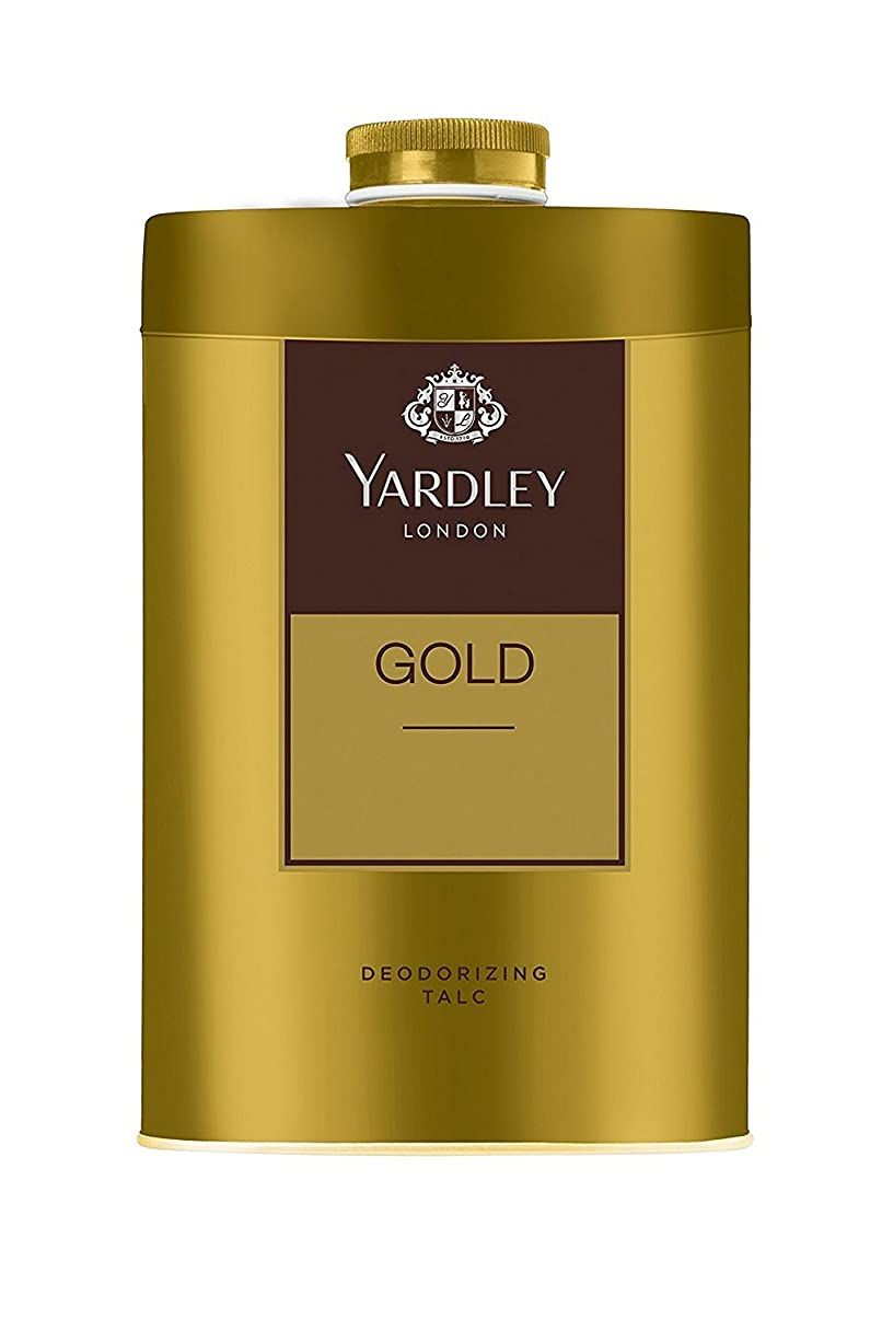 ブロッサム肯定的納税者Yardley London - Gold Deodorizing Talc for Men, 250g