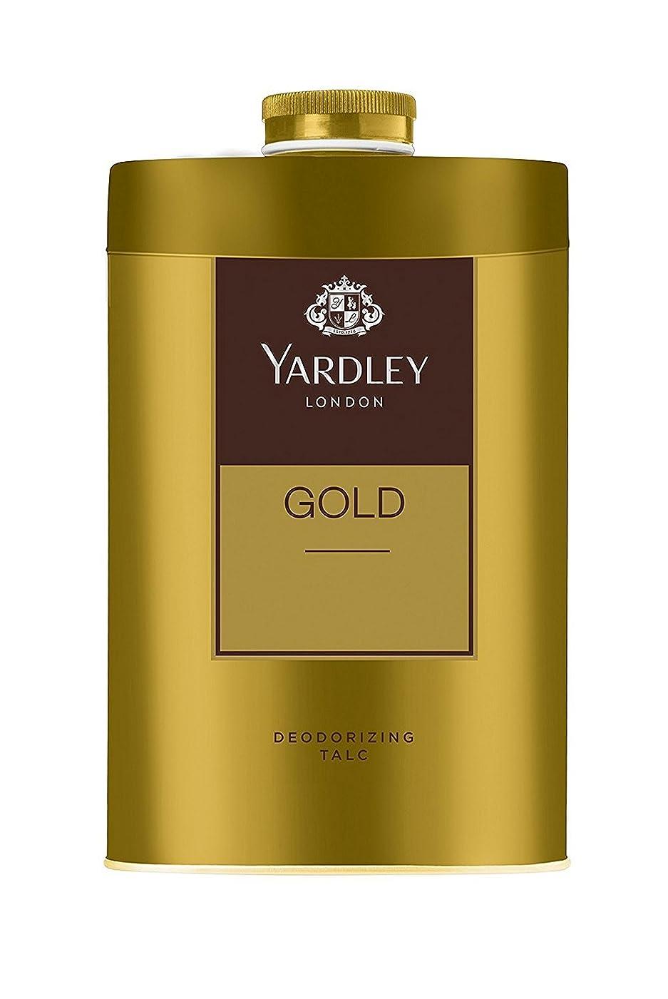 表示発生祈るYardley London - Gold Deodorizing Talc for Men, 250g
