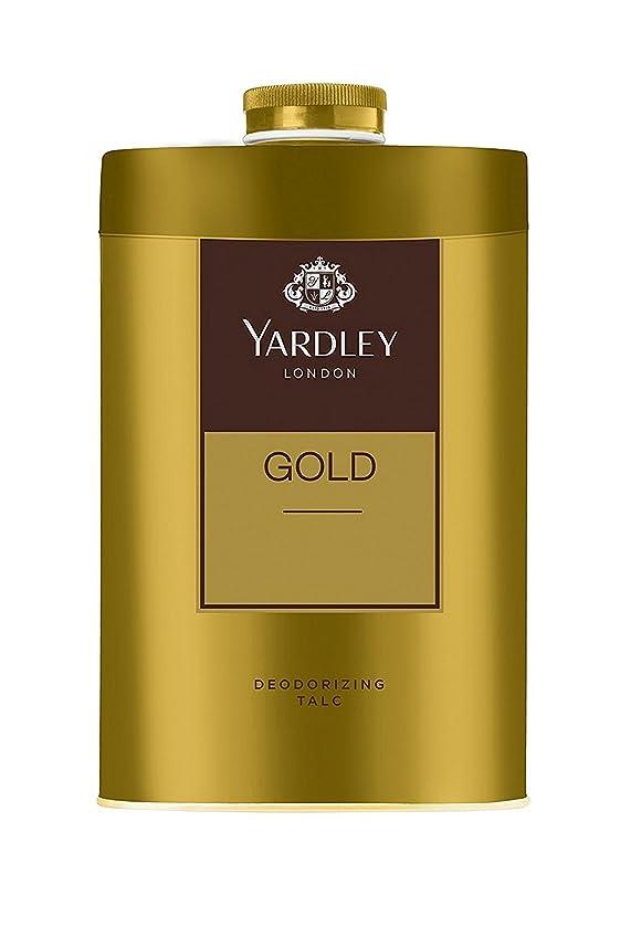 死の顎キャンベラクルーズYardley London - Gold Deodorizing Talc for Men, 250g
