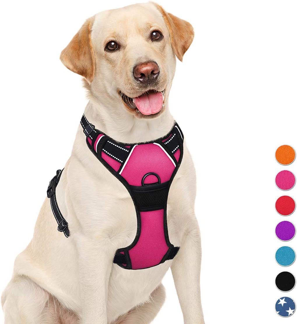 Overseas parallel import regular item BARKBAY No Pull Dog trust Harness in Step Reflective Large