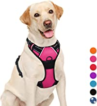 BARKBAY No Pull Dog Harness Large Step in Reflective Dog Harness with Front Clip and Easy Control Handle for Walking Train...