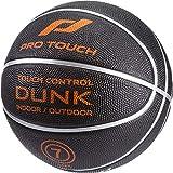 Pro Touch Basketball Dunk Badminton Ball, Schwarz/Orange/Silbe, 7