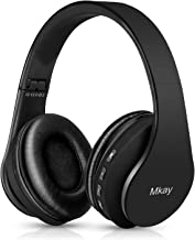 Bluetooth Headphones Wireless,MKay Over Ear Headset V5.0 with Microphone, Foldable &..