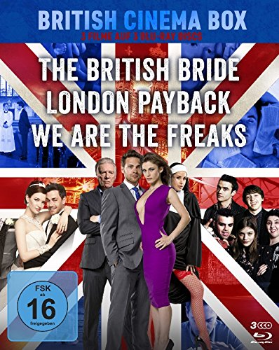 British Cinema Box [3 x Blu-ray] - We are the Freaks - London Payback - The British Bride