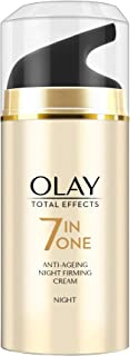 Olay Total Effect 7 in 1 Anti Ageing Night Firming Cream, 20g