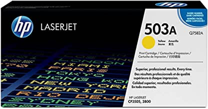 HP - Hewlett Packard Color LaserJet 3800 N (503A / Q 7582 A) - original - Toner yellow - 6.000 Pages