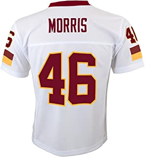 Outerstuff Alfred Morris NFL Chicago Bears Mid Tier Away White Replica Jersey Youth (S-XL)