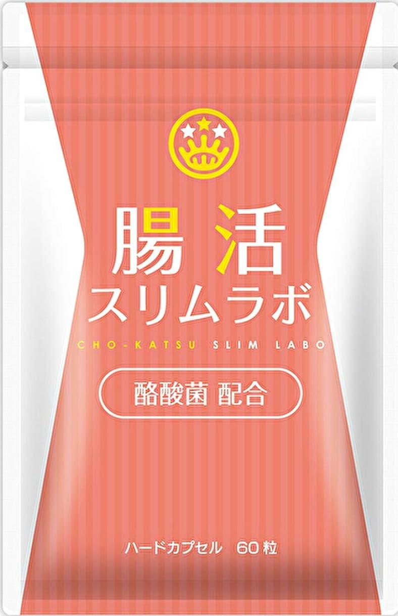 変わるそのような扱う酪酸菌サプリ 腸活スリムラボ (30日分) 酪酸菌 短鎖脂肪酸 サプリメント