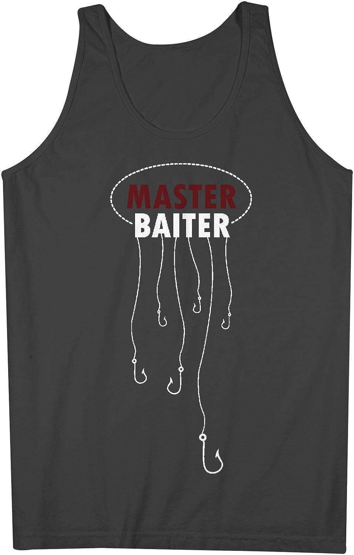 Master Baiter おかしいです Fishing 男性用 Tank Top Sleeveless Shirt