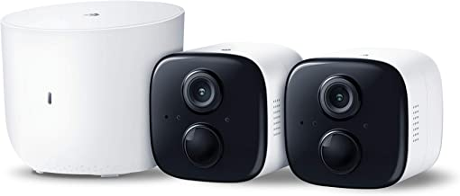 Kasa Spot Home Security Camera System Wireless Outdoor & Indoor Camera by TP-Link, 1080P HD with Built in Siren, Night Vision, Battery Rechargeable, Works w/Alexa & Google Home (KC310S2)