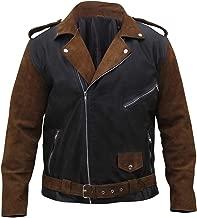Mens Vintage Brando Motorcycle Rider Classic Biker Jacket Collection