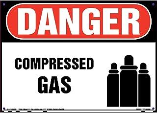 Danger: Compressed Gas Sign - J. J. Keller & Associates - 14