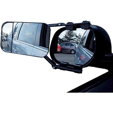 Toolzy 100058 Caravanspiegel Wohnwagenspiegel Caravan Spiegel Clip On Rückspiegel Baumarkt