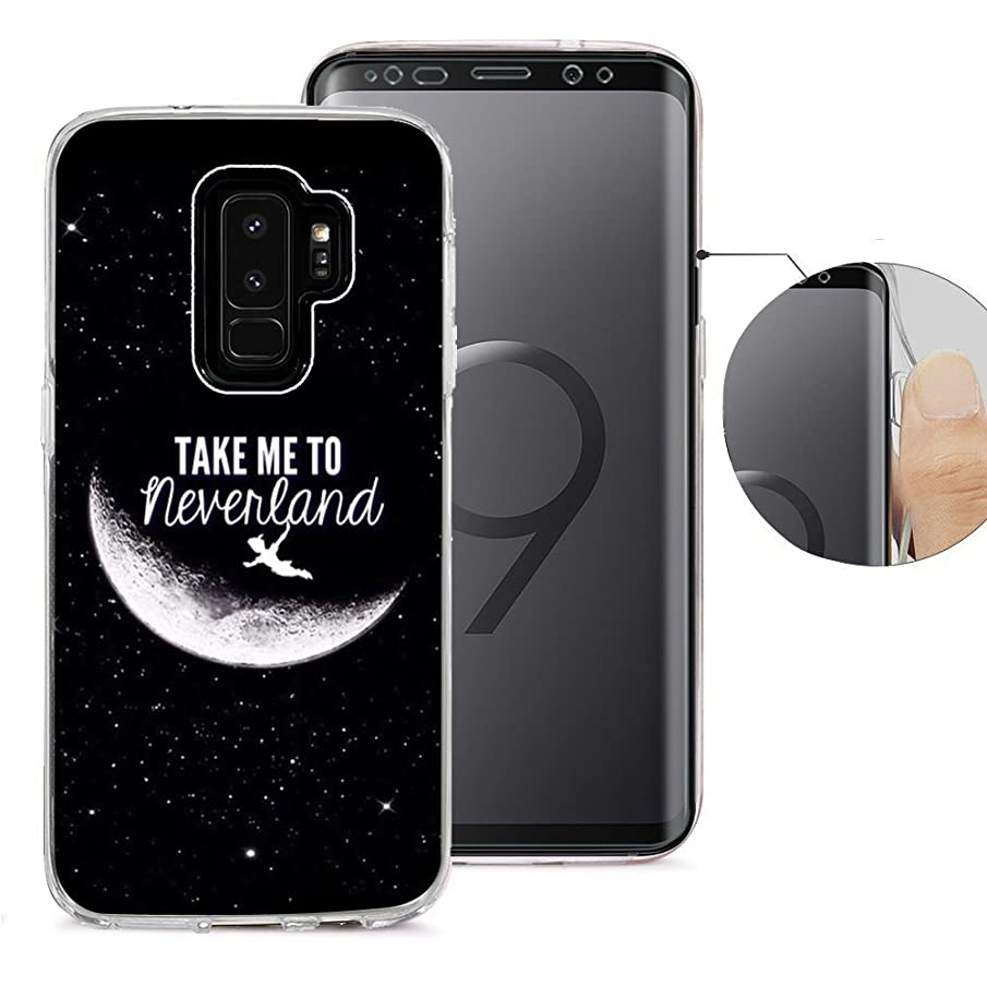 Compatible with Samsung S9 Plus Case, Viwell Design Pattern Case, High Impact Protective Case for Samsung Galaxy S9 Plus Case Take me to Neverland