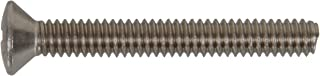The Hillman Group The Hillman Group 4024 1//4-20 x 1-1//4 In Stainless Steel Oval Head Phillips Machine Screw 10-Pack