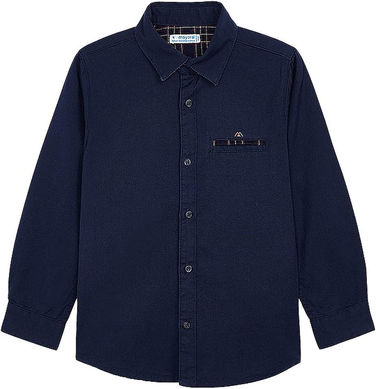 Mayoral - Long Sleeve Shirt for Boys - 4145, Navy