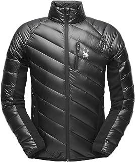 SPYDER Men's Syrround Hybrid Full Zip Waterproof Jacket for Winter Sports