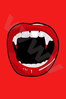 VVWV Vampire Teeth Wall Art Poster 300 GSM Office Bedroom Poster Stylish Big Size Boys Home Decoration Photography Posters...