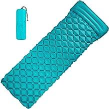 VOLADOR Inflatable Sleeping Pad, Camping Air Mattress Portable Self Inflating Sleeping Mat Pillow Outdoor Camping Backpacking Travel