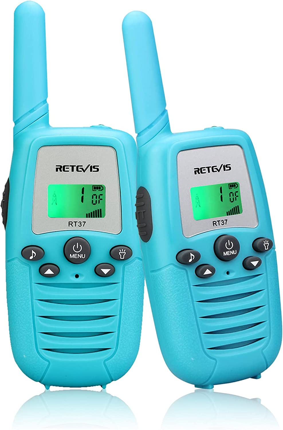 Retevis RT37 Walkie Talkies for Gifts Max 74% Deluxe OFF Kids Famil 2 Pack