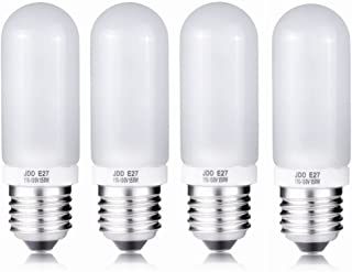 4X 150W Modeling Lamp Bulbs, 110V-130V Frosted Halogen Replacement Light Bulb for Photo Studio Strobe (150W)