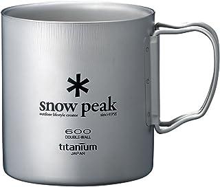 スノーピーク(snow peak) チタン ダブルマグ 600 [容量600ml] MG-054R
