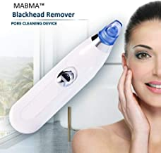 MABMA 4 in 1 Multi-function Blackhead Whitehead Extractor Remover Device - Acne Pimple Pore Cleaner Vacuum Suction Tool For Men And Women