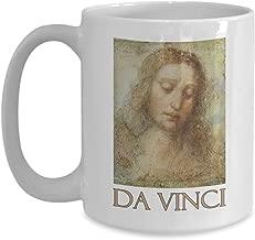 Portrait of Christ by Leonardo da Vinci - Ceramic Coffee Mug