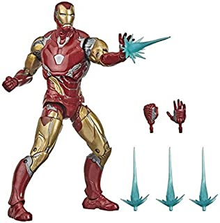 Hasbro Marvel Legends Series Avengers 6-inch Collectible Action Figure Toy Iron Man Mark LXXXV, Premium Design and 4 Acces...