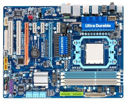 Gigabyte GA MA790XT UD4P Mainboard Sockel AMD AM3 max 16 GB DDR3 Speicher ATX