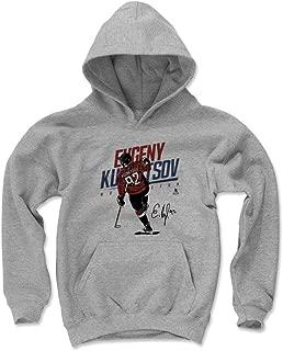 500 LEVEL Evgeny Kuznetsov Washington Hockey Kids Hoodie - Evgeny Kuznetsov Goal Celebration