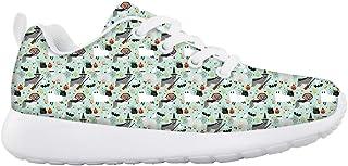 Boys Girls Casual Lace-up Sneakers Running Shoes Giraffe Mum and Babys Secret Garden