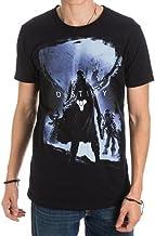 Destiny Video Game Logo Character Men's Black T-Shirt (Medium)