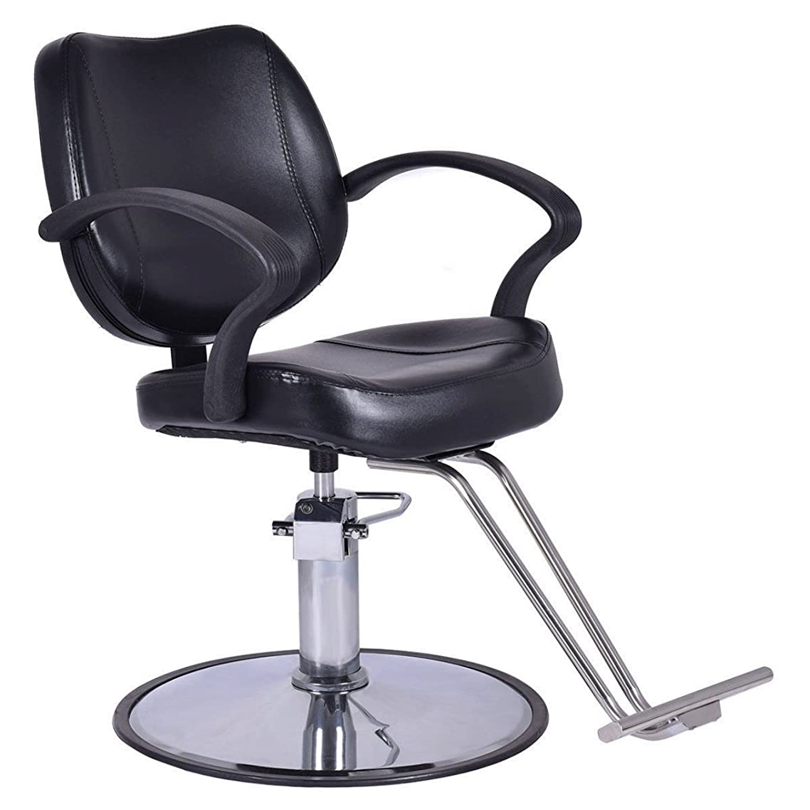 New Classic Hydraulic 360 Degree Swivel Barber Chair Salon Beauty Spa Hair Styling/ Black #835