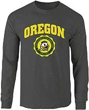 Elite Fan Shop NCAA Men's Long Sleeve Shirt Charcoal Seal