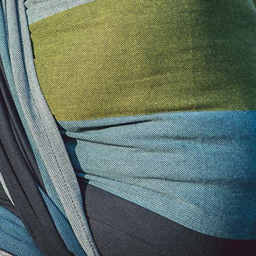 HOPPEDIZ Baby-Tragetuch, inklusive Bindeanleitung, Aberdeen 4,60 m - 5
