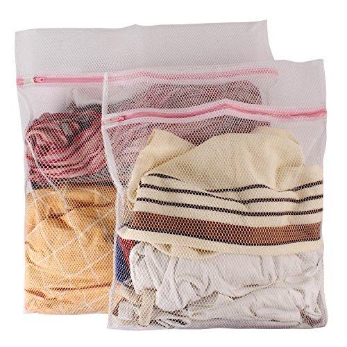 DEKELIN 2010 Microfiber Protective Laundry Bag (Medium and Large,...