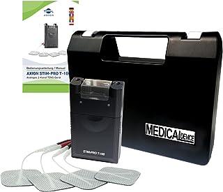 Electroestimulador TENS T100 uso sencillo - Contra el dolor y rehabilitación - Manual en castellano - Calidad axion
