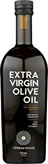 Cobram Estate Extra Virgin Olive Oil 100% California Select, First Cold Pressed, Non-GMO 750mL, Keto Friendly High in Anti...