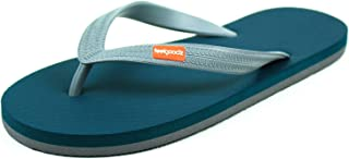 Feelgoodz Men's Classicz Natural Rubber Flip Flops - Comfortable and Durable Natural Rubber Sole