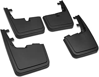 DNA MOTORING WFMK-002 Mud Guard Splash Flap [for 15-18 Ford F150 Without OE Wheel Lip Moulding]
